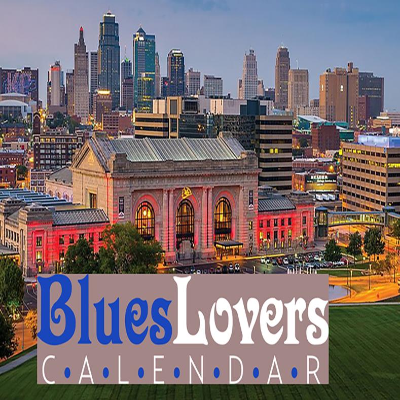 Blues Lovers Calendar - Kansas City