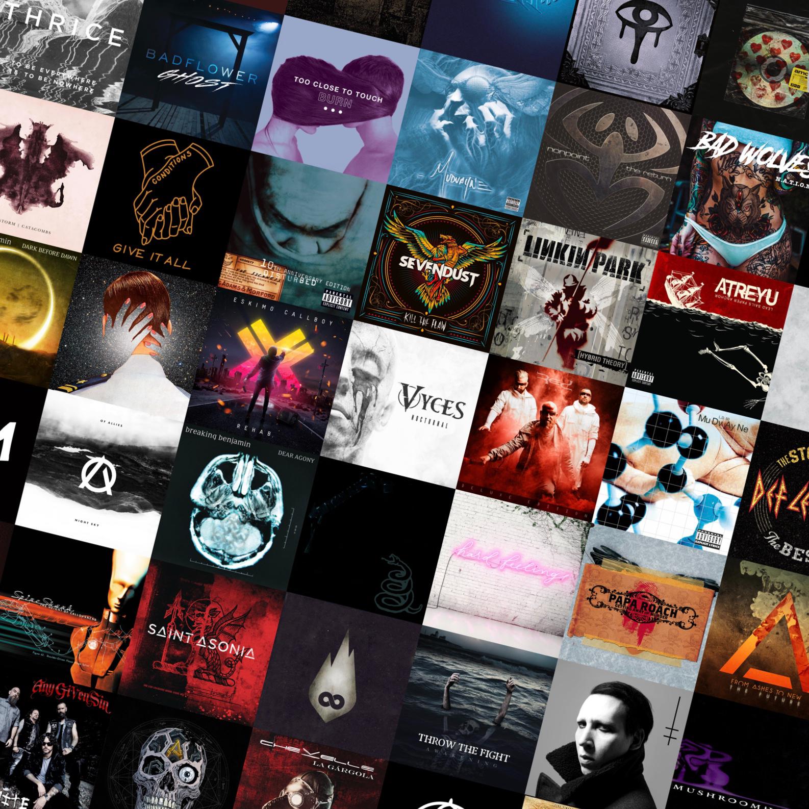 Rock Lounge 365 -- New Rock & Metal