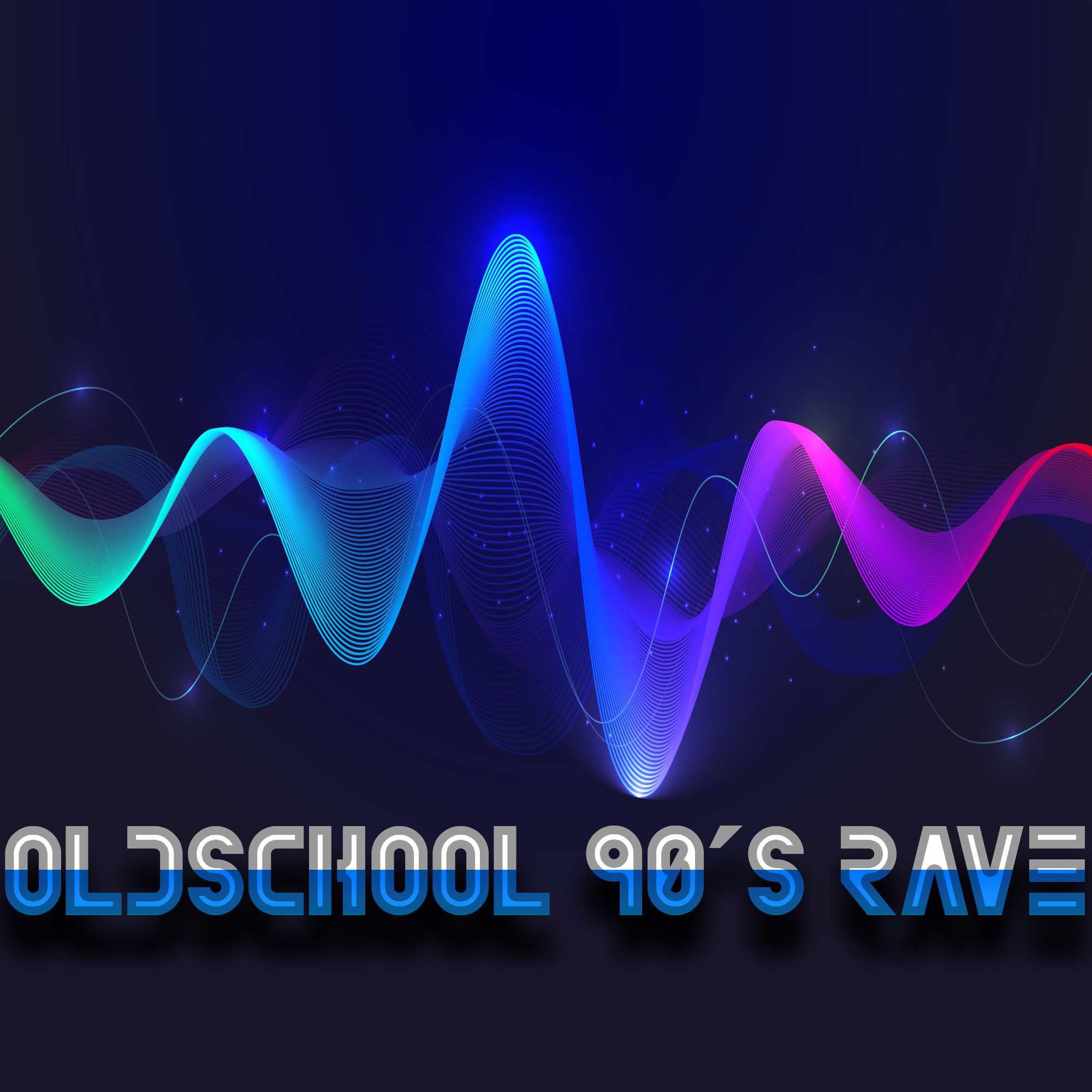 Oldschool 90's Rave, Techno, Trance, House