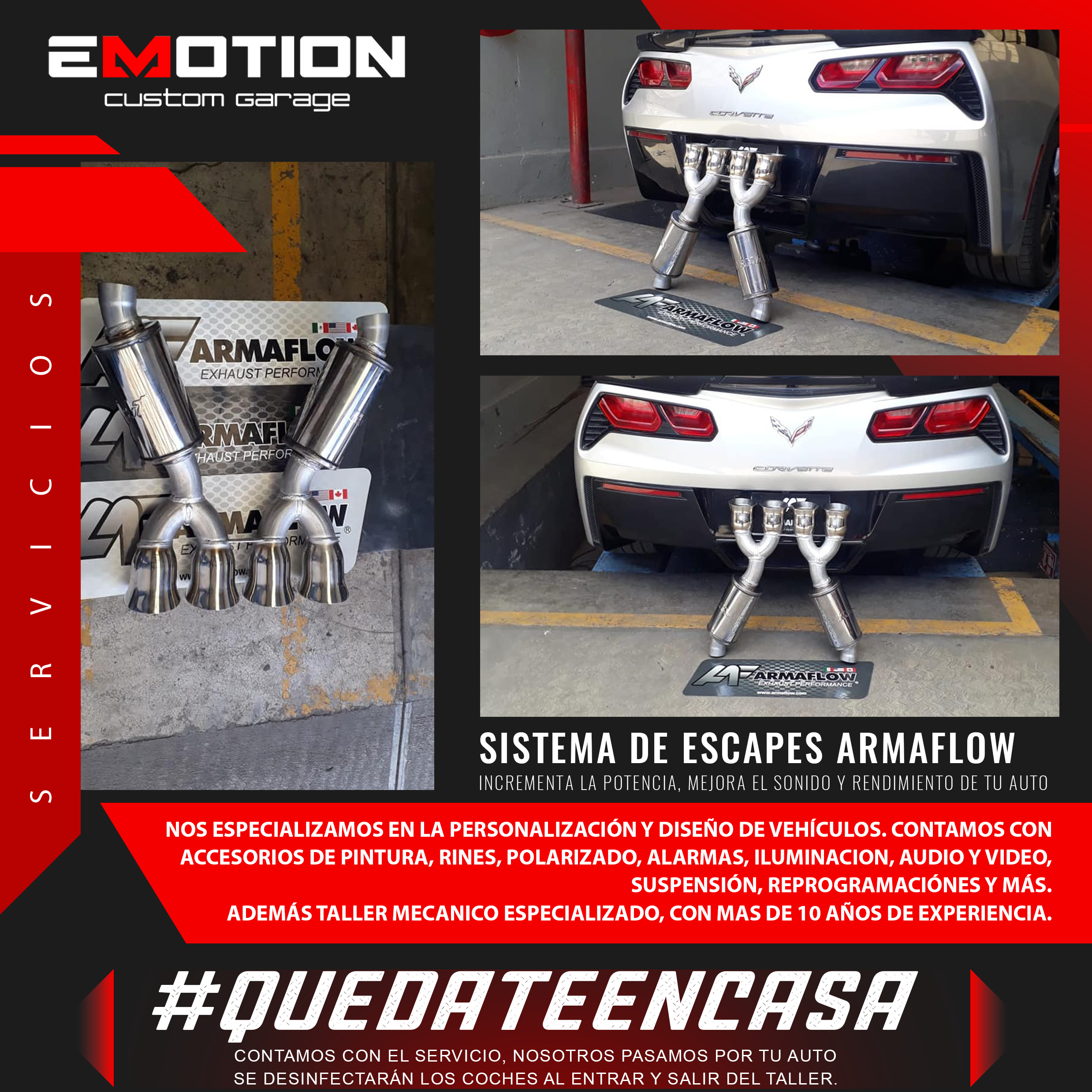 Emotion Custom Garage