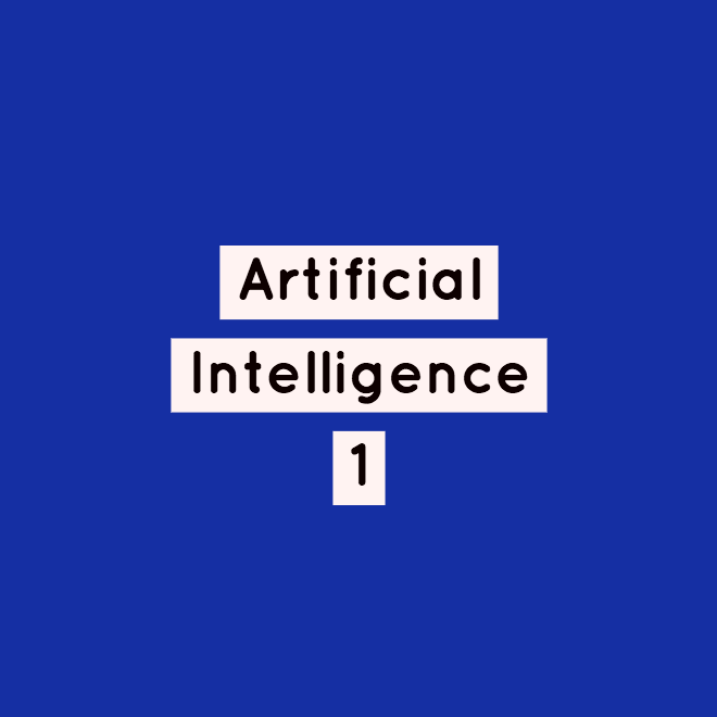 artificial intelligence 1