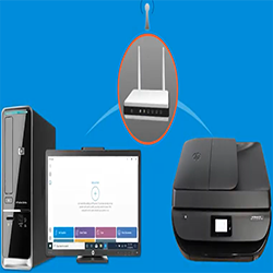 hp printer connect wifi