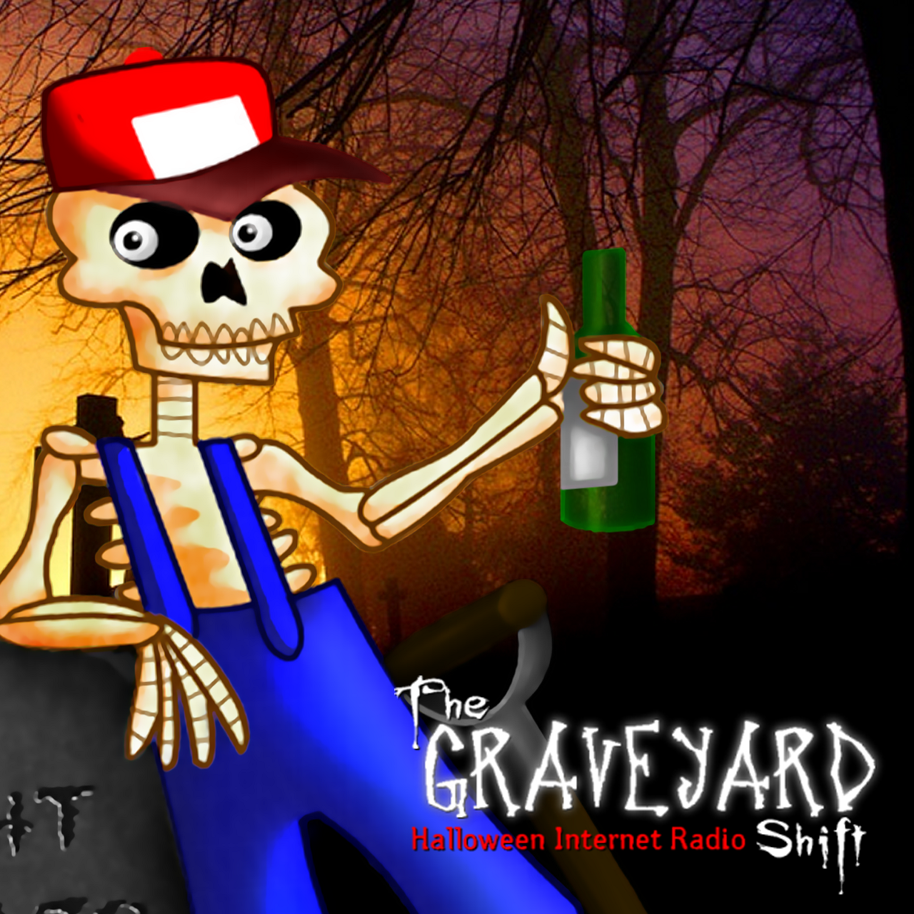 The Graveyard Shift -- Halloween Internet Radio
