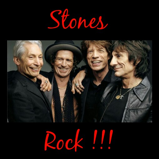 The Face of Music - Stones Rock !!!