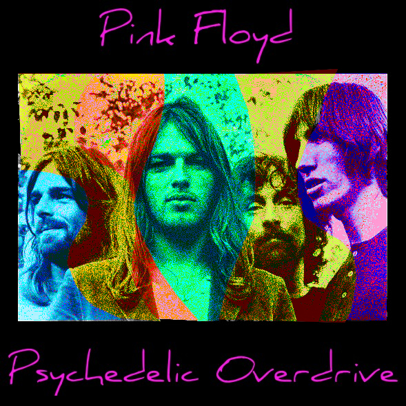 The Face of Music - Pink Floyd Psychedelic Overdrive
