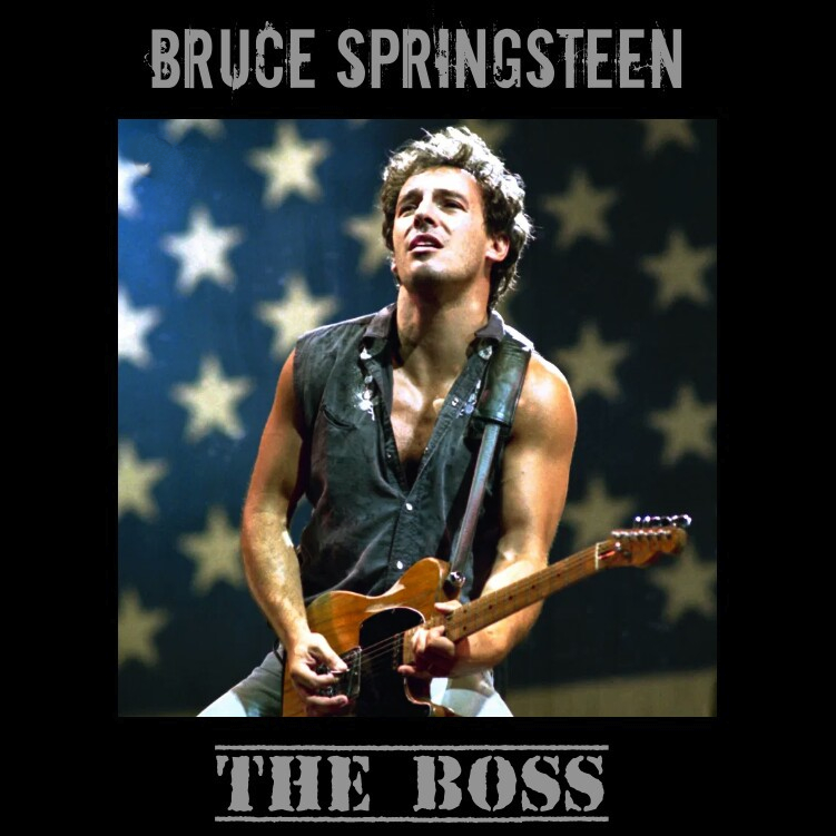 The Face of Music - Bruce Springsteen The Boss