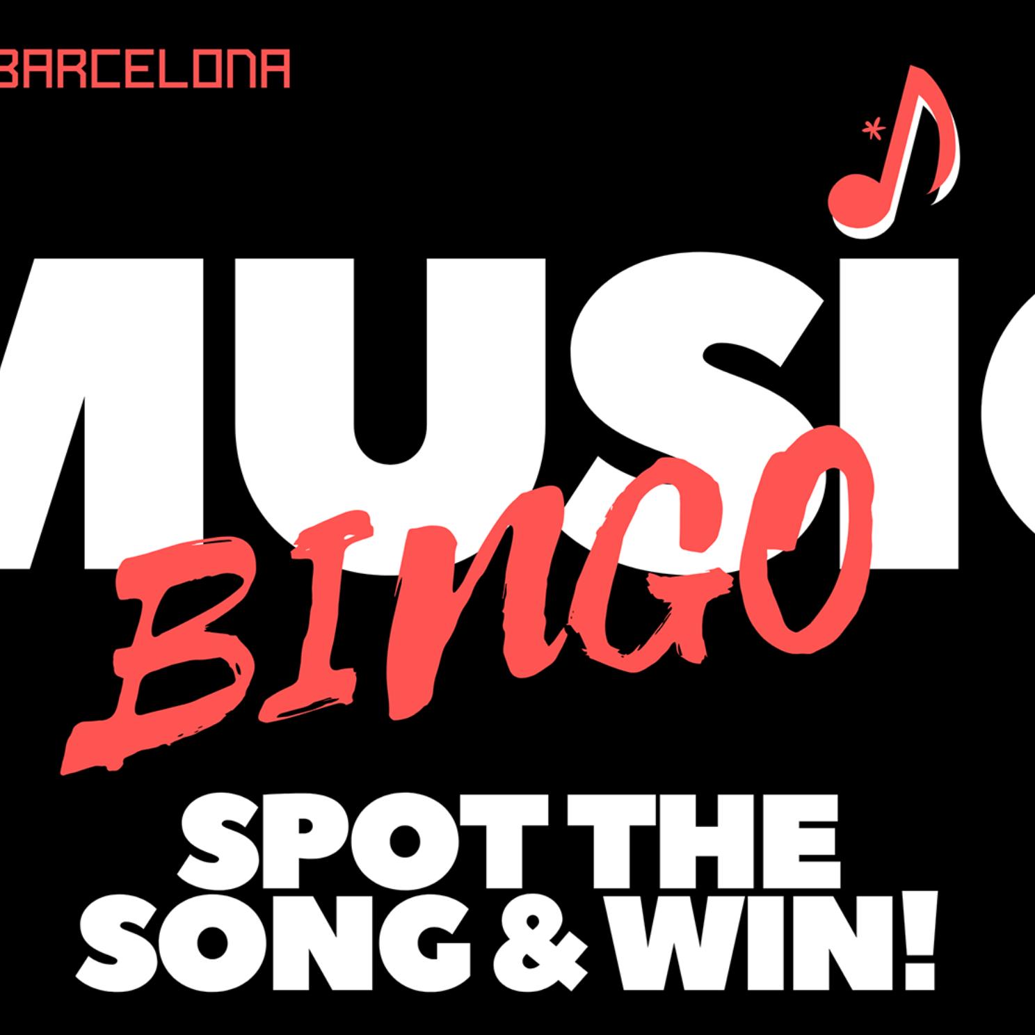 MUSIC BINGO - Pub Quiz Barcelona