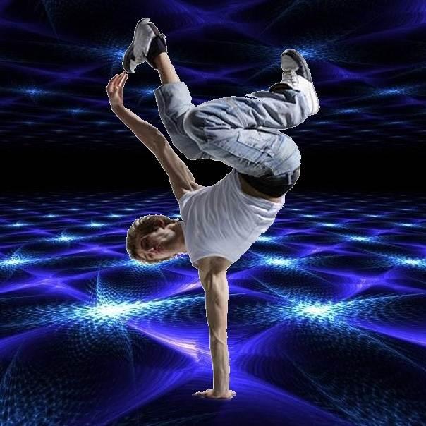 B-Boy Breakdance Freestyle Electronic Dance Music Radio