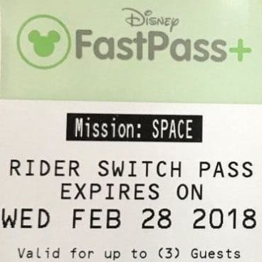 FastPass+ Attractions