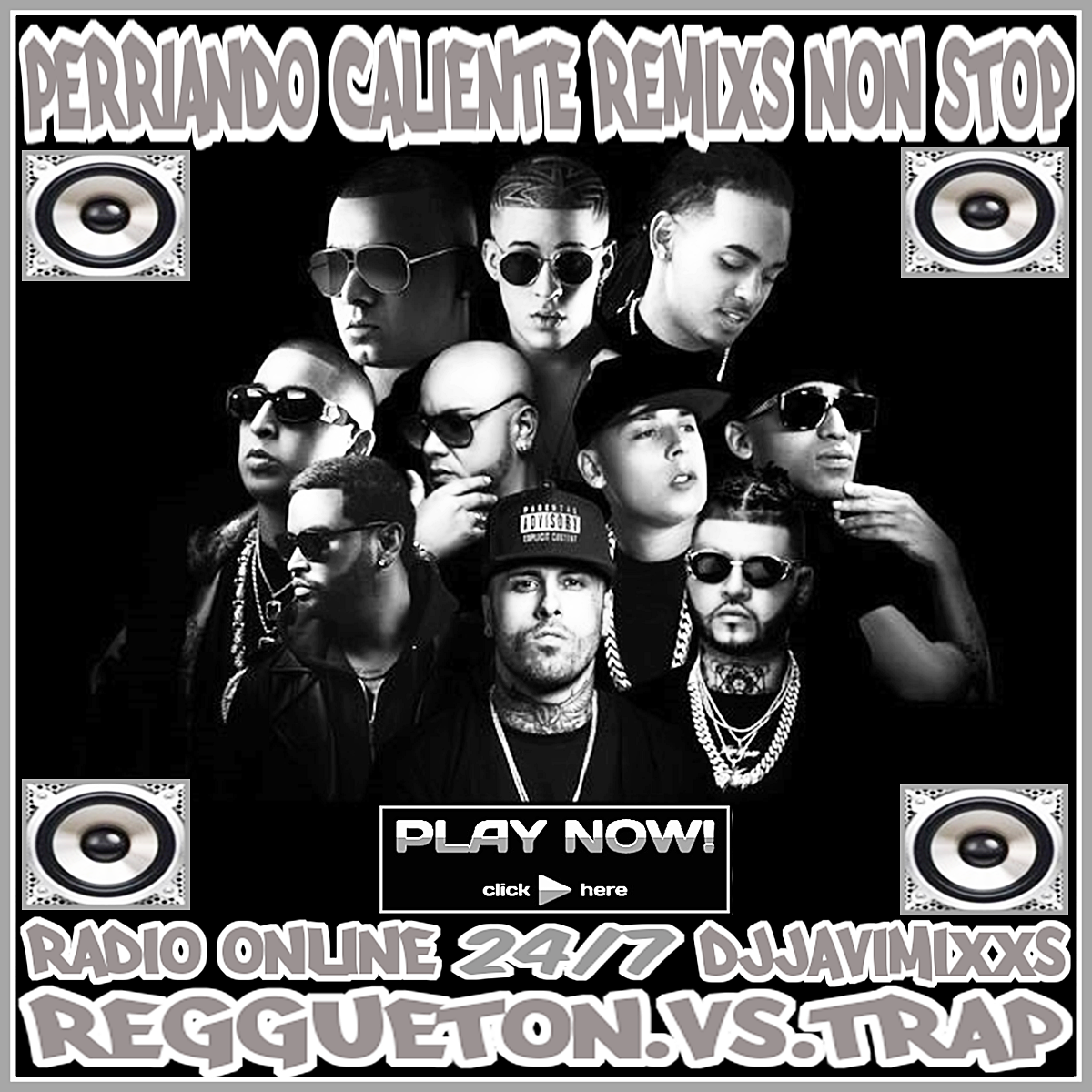 PERRIANDO CALIENTE-REMIXS-NON-STOP-PR