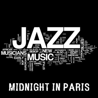 Midnight In Paris - Easy Smooth Jazz