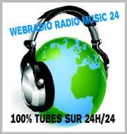 Webradio radio music 24 100% tubes