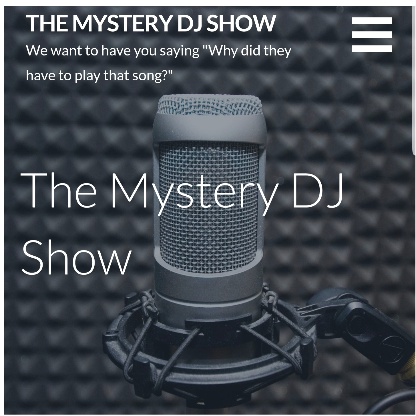 The Mystery DJ's Slow Jamz