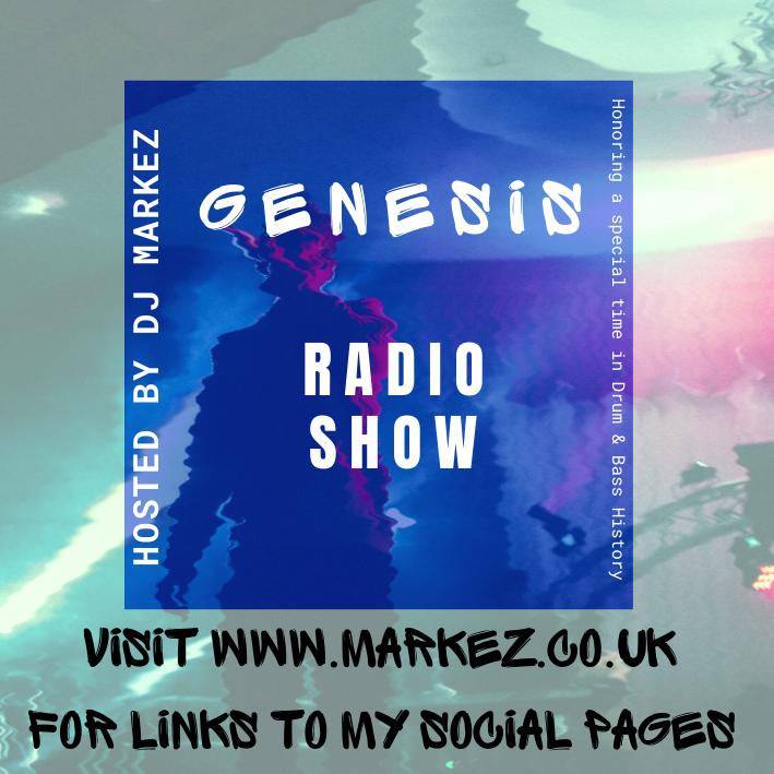 Genesis Radio Show - Host by DJ Markez