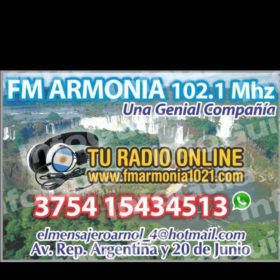 FM ARMONIA 102.1MHZ