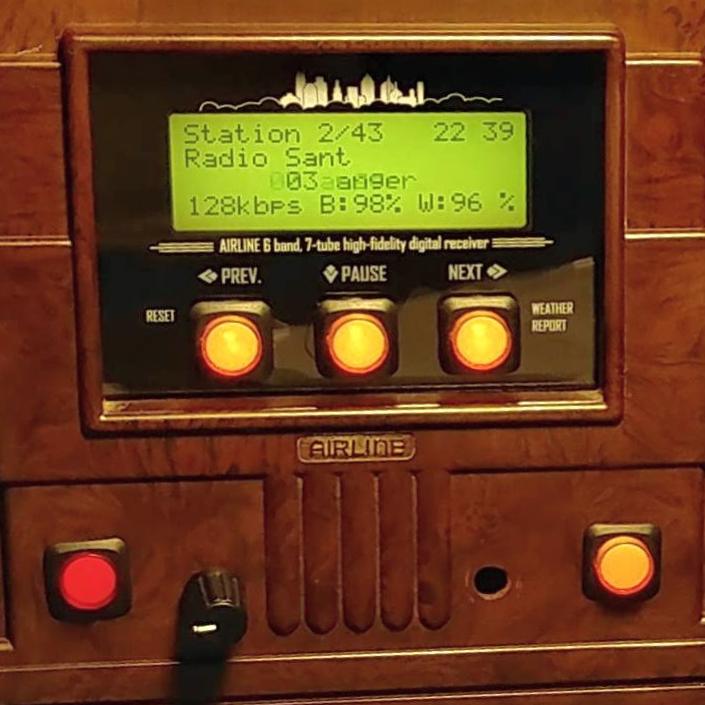 MyESP32 radio station test