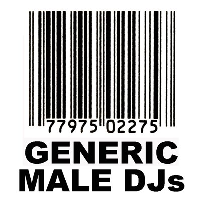 Generic Male DJs - Ultimate 80s