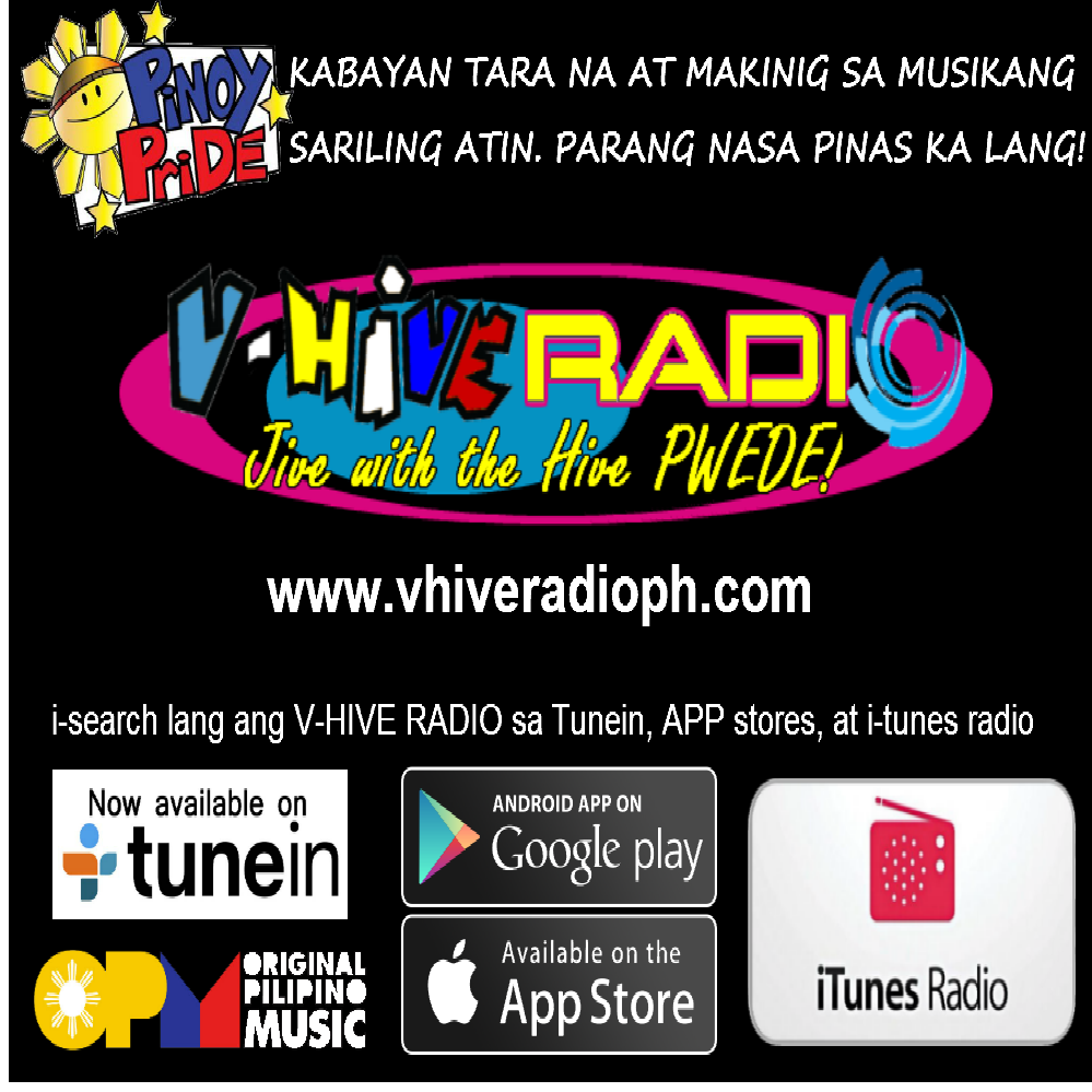 V-Hive Radio Philippines - Hottest Filipino OPM Music, Pinoy Radio Hits Tagalog Songs