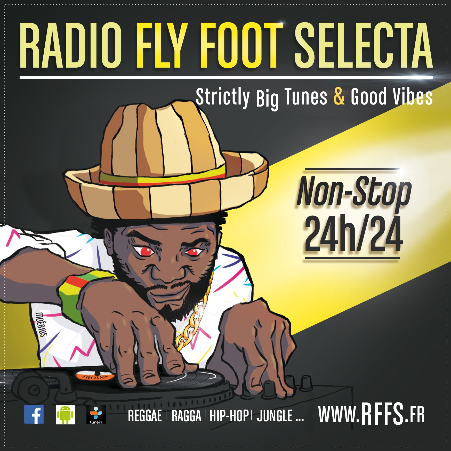radio fly foot selecta
